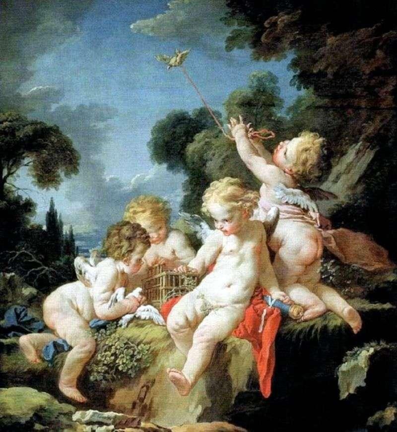 Art History Francois Boucher Paintings