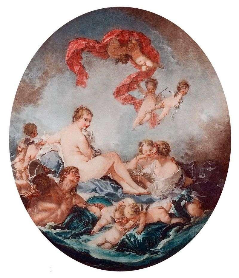 The Triumph of the Goddess Venus by Francois Boucher
