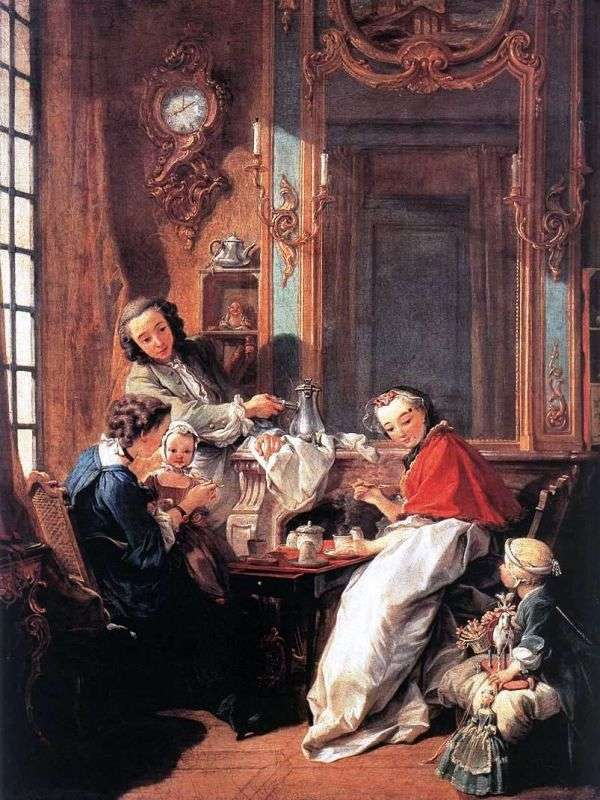 Morning coffee by Francois Boucher
