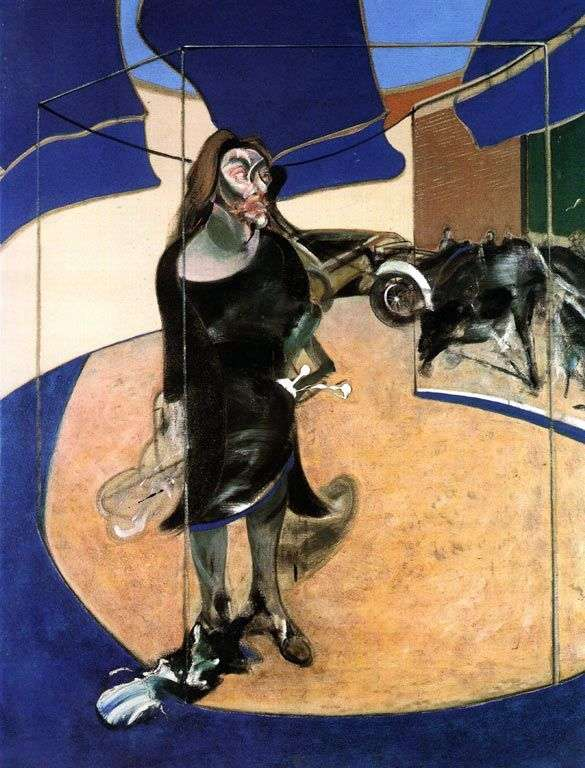 Portrait of Isabel Raustorner by Francis Bacon