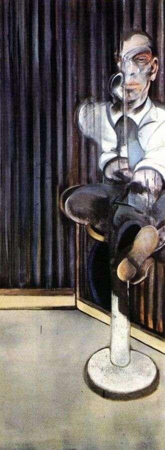 Portrait of a dwarf by Francis Bacon