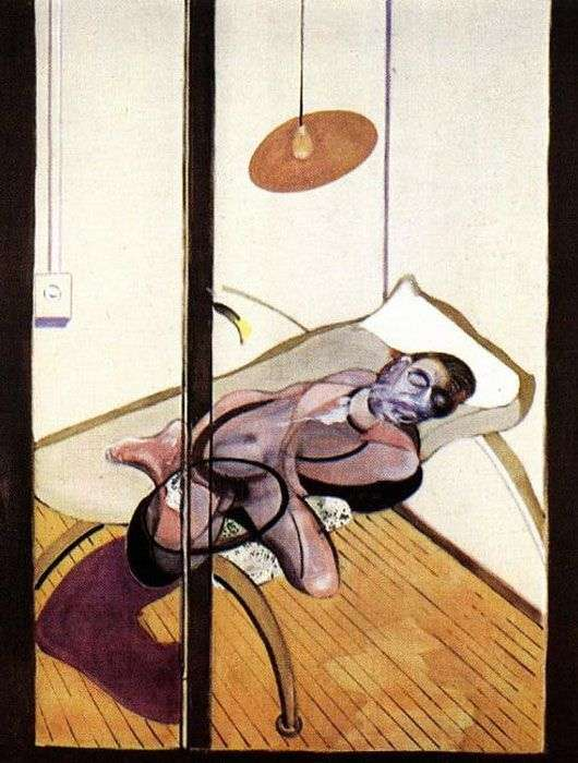 Sleeping Man by Francis Bacon