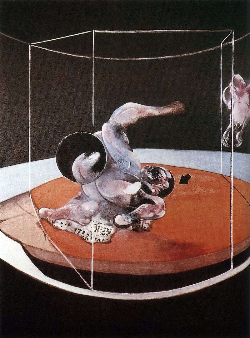 Figures in motion by Francis Bacon