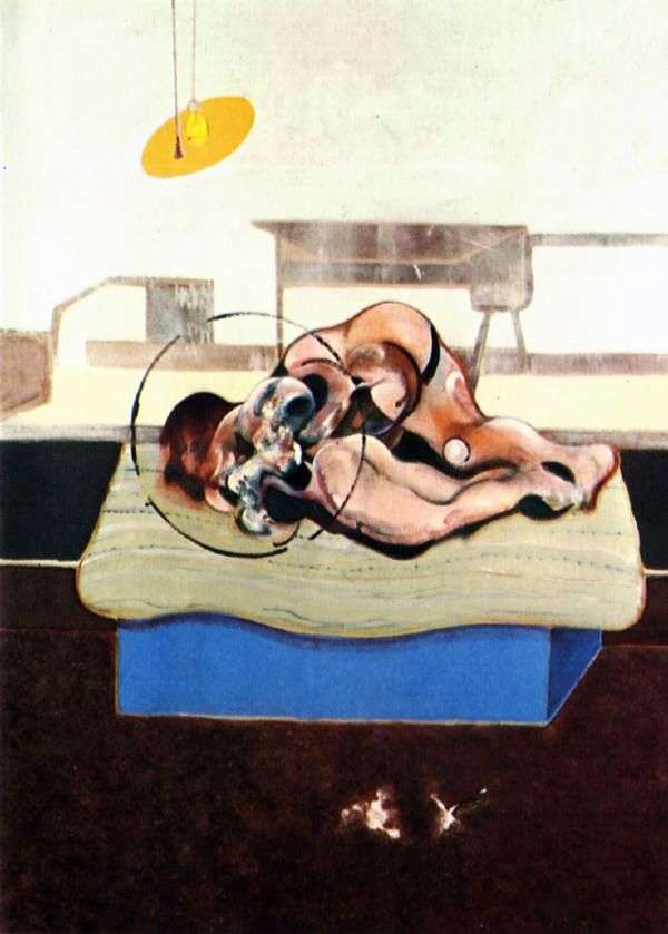Figures in the Bed by Francis Bacon