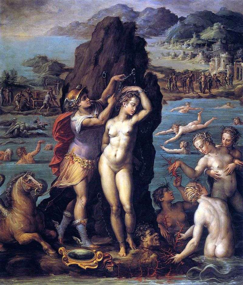 Perseus and Andromeda by Giorgio Vasari