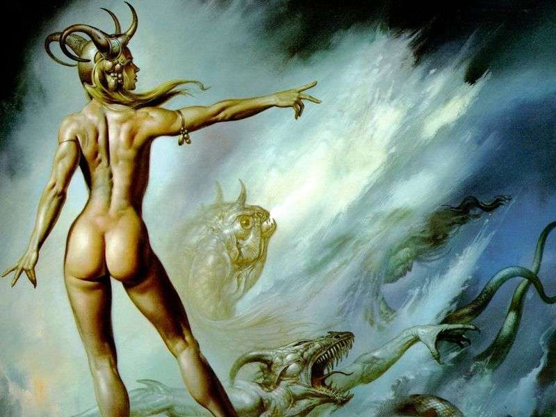 The Queen of Demons by Boris Vallejo