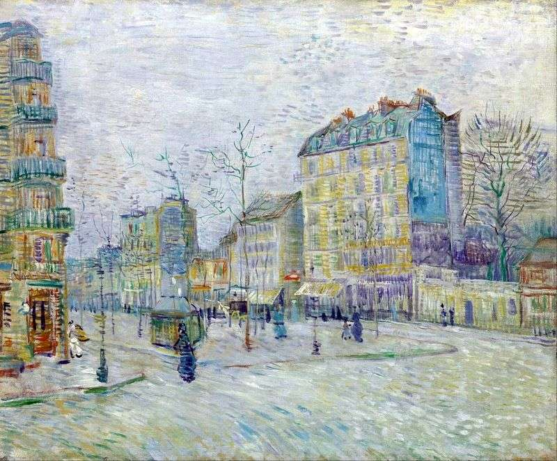 Boulevard Clichy by Vincent Van Gogh