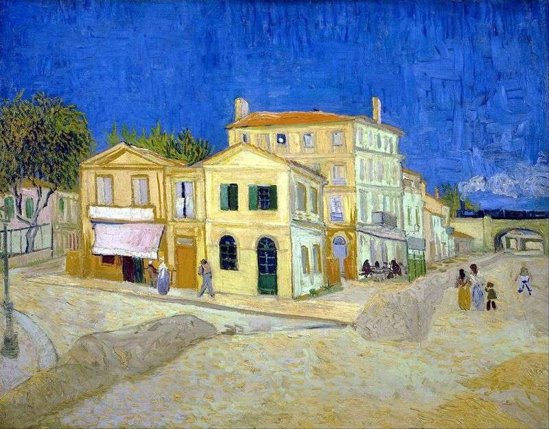 House of Vincent in Arles (yellow House) by Vincent Van Gogh