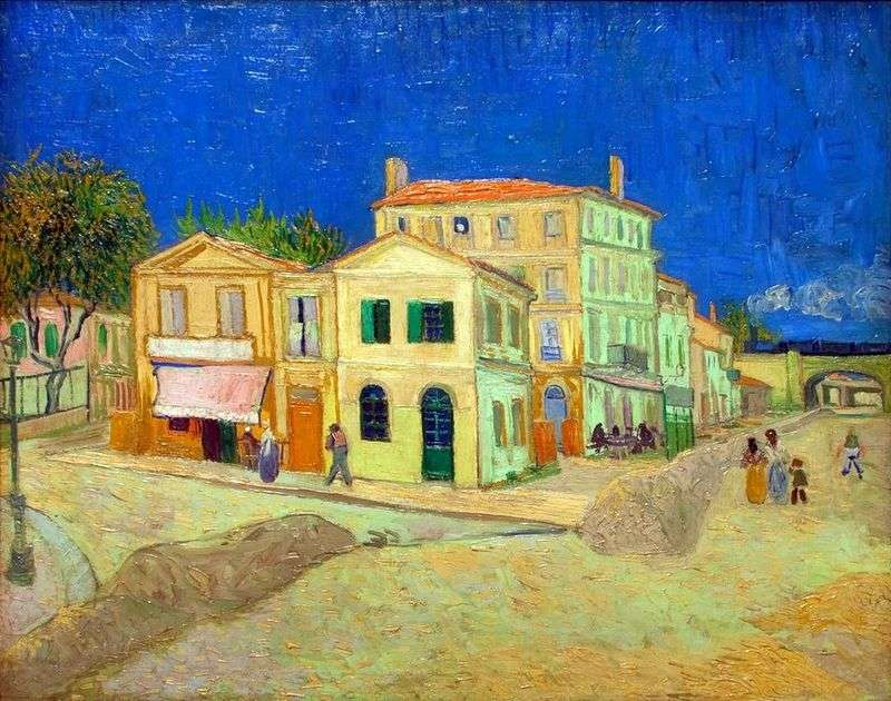 Houses by Vincent van Gogh