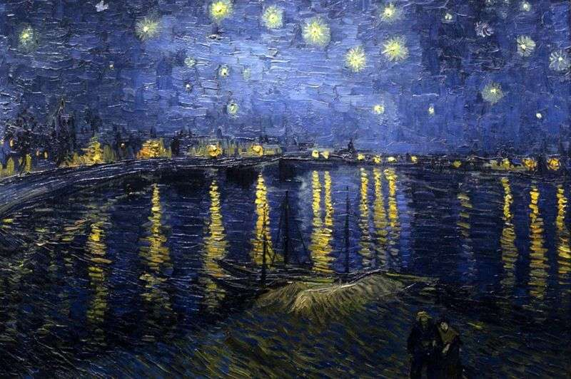 Starry night over the rhone meaning