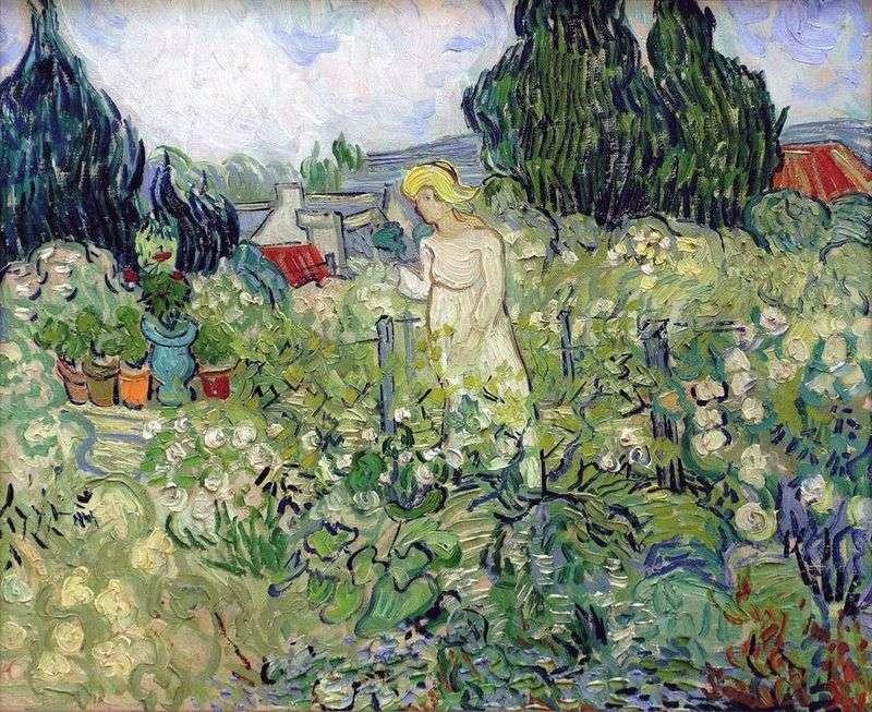 Margaret Gachet in the Garden by Vincent Van Gogh