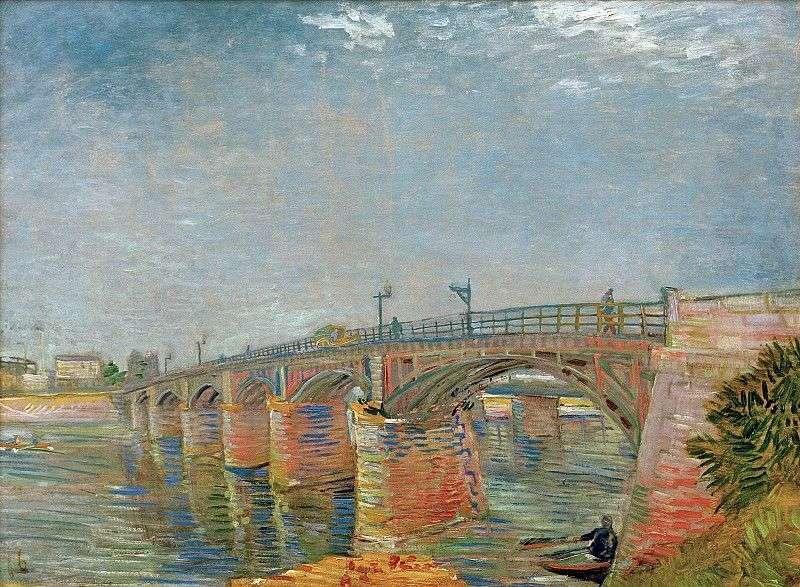 Bridge over the Seine in Asnieres by Vincent Van Gogh