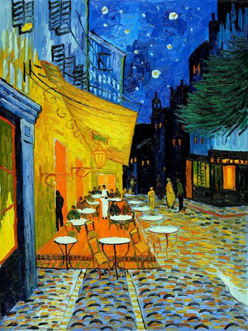 Night Cafe Terrace by Vincent Van Gogh