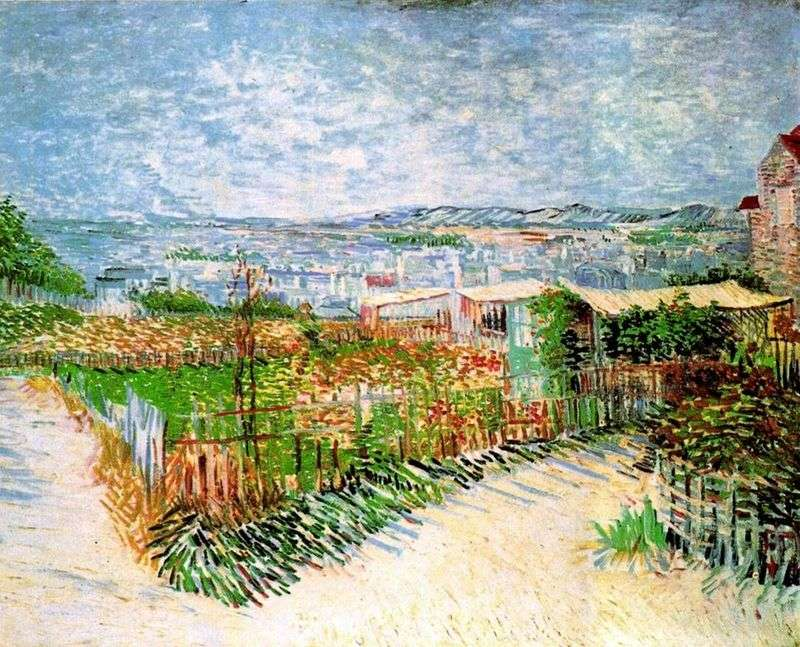 The Cities in Montmartre by Vincent Van Gogh