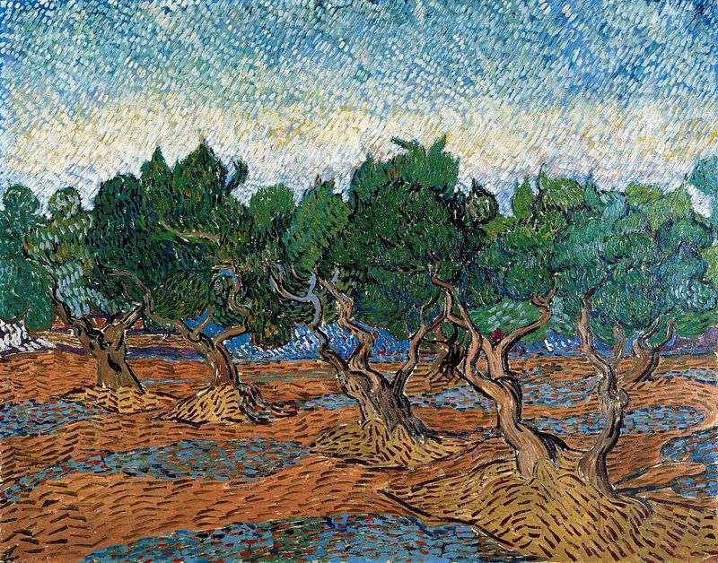 Olive Grove IV by Vincent Van Gogh