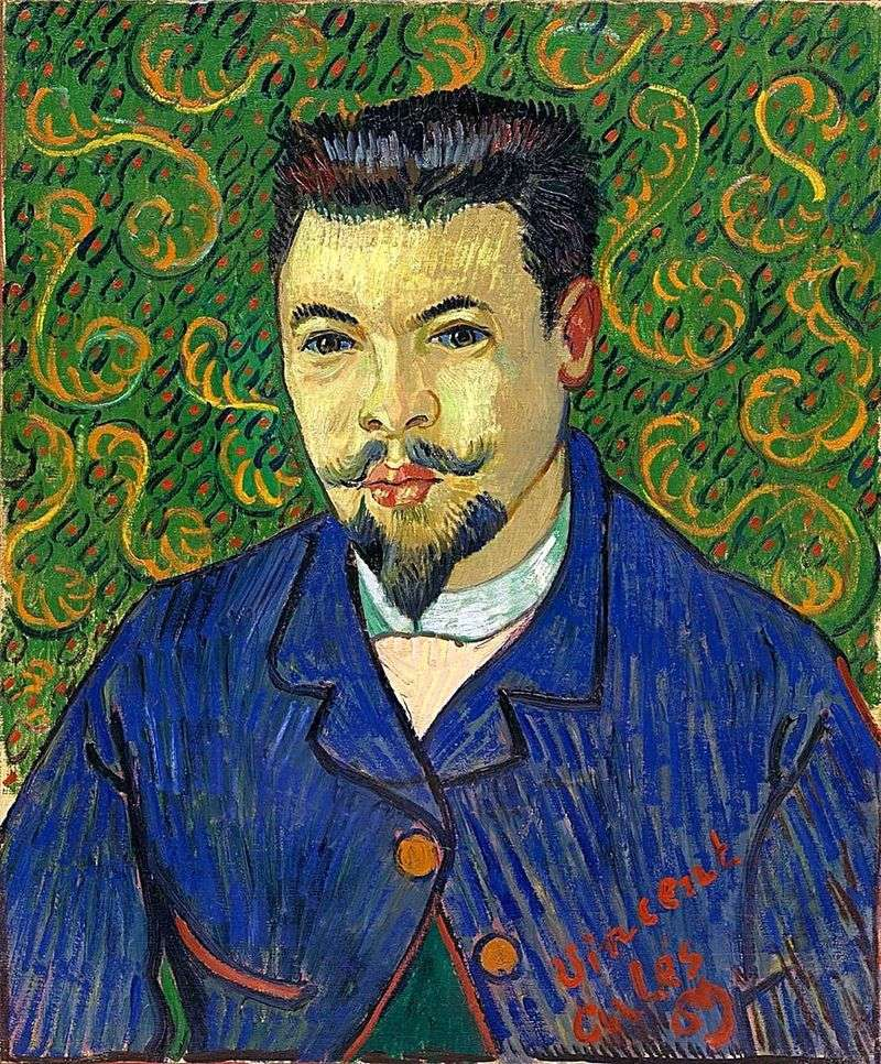 Portrait of Dr. Felix Rhea by Vincent Van Gogh