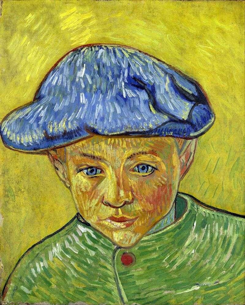 Portrait of Camille Roulin by Vincent Van Gogh