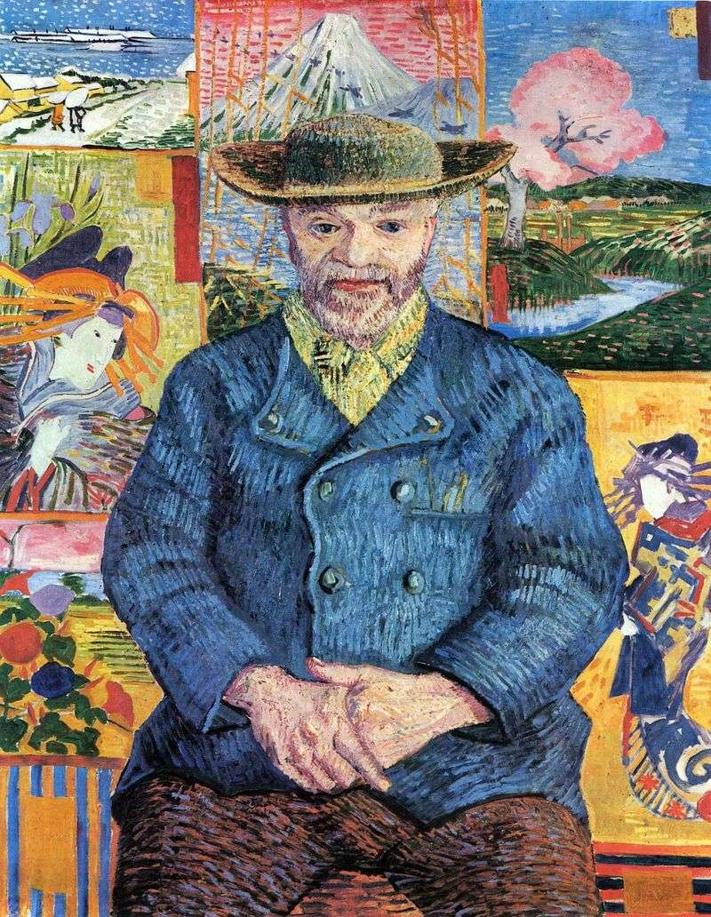 Portrait of daddy Tangi by Vincent Van Gogh