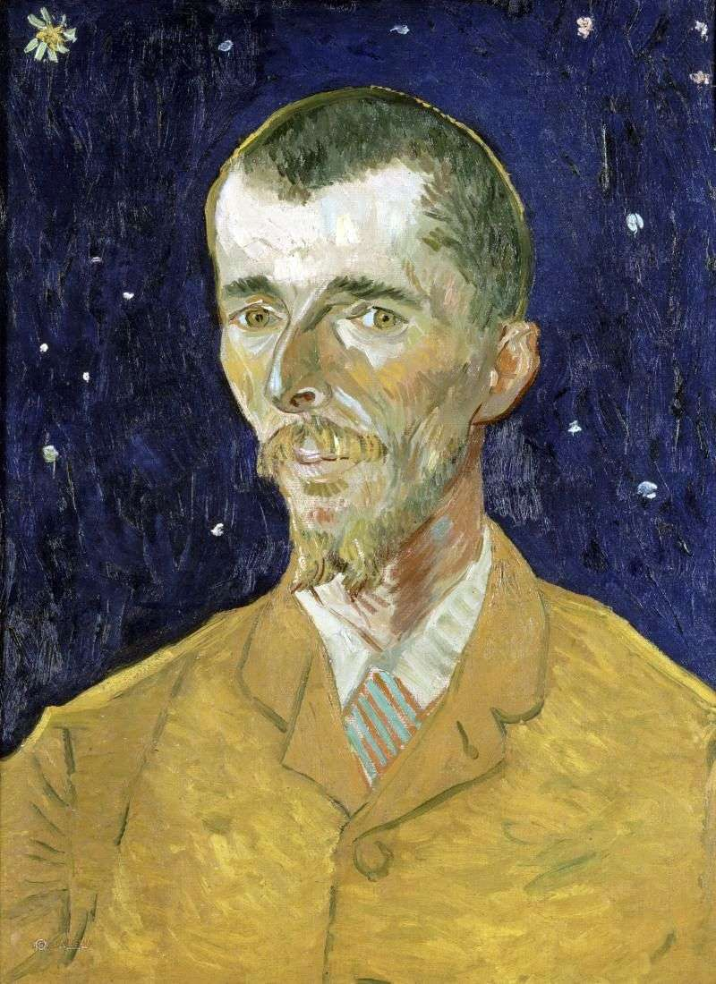 The poet, a portrait of Eugène Bosh by Vincent Van Gogh