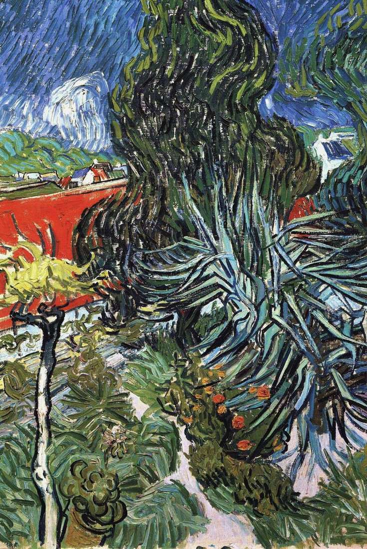 Dr. Gachets Garden in Over by Vincent Van Gogh