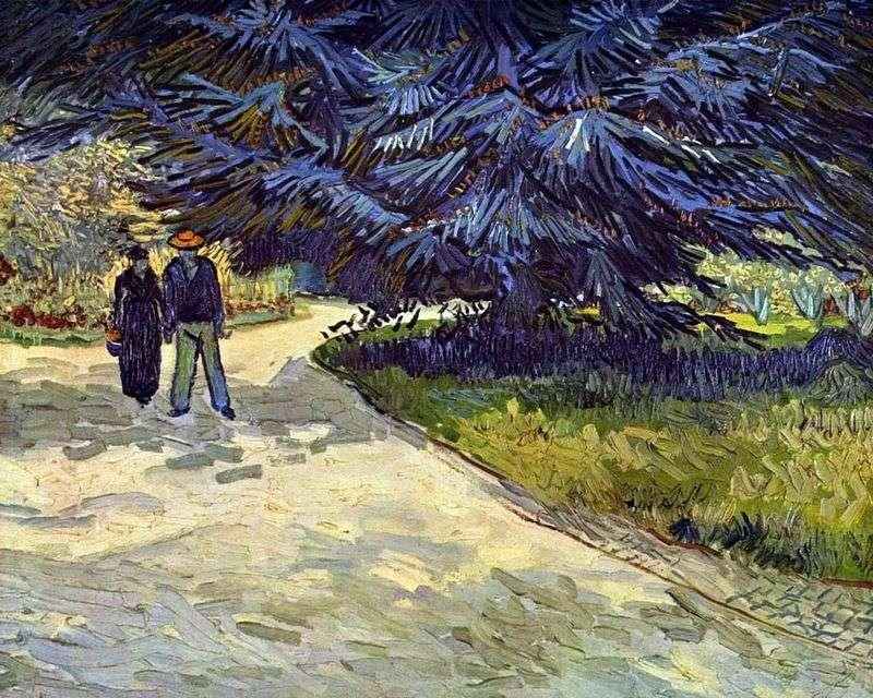 The Garden of Poets by Vincent Van Gogh