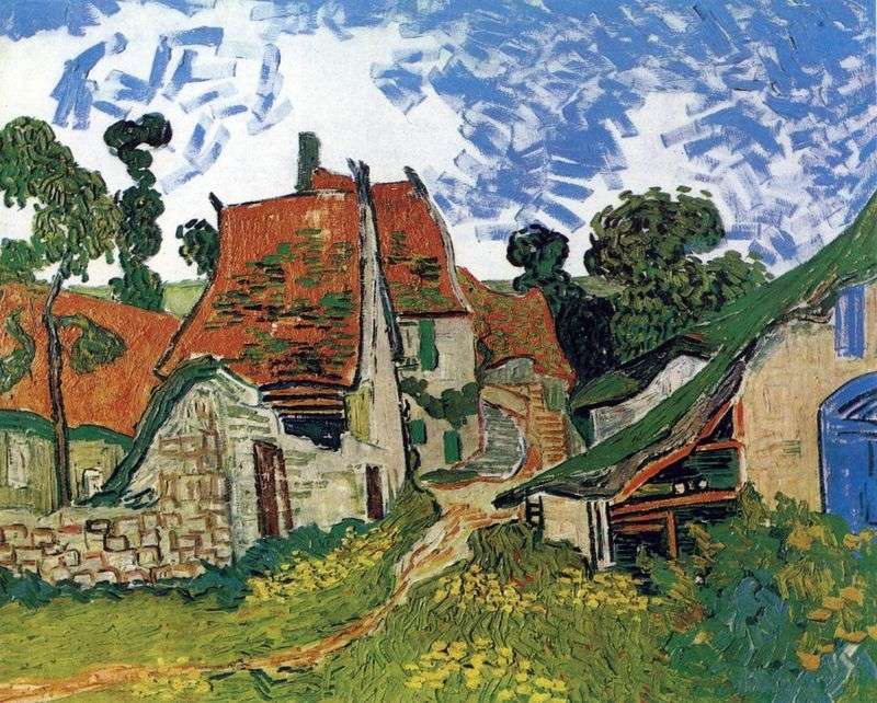 Street in the Over by Vincent Van Gogh