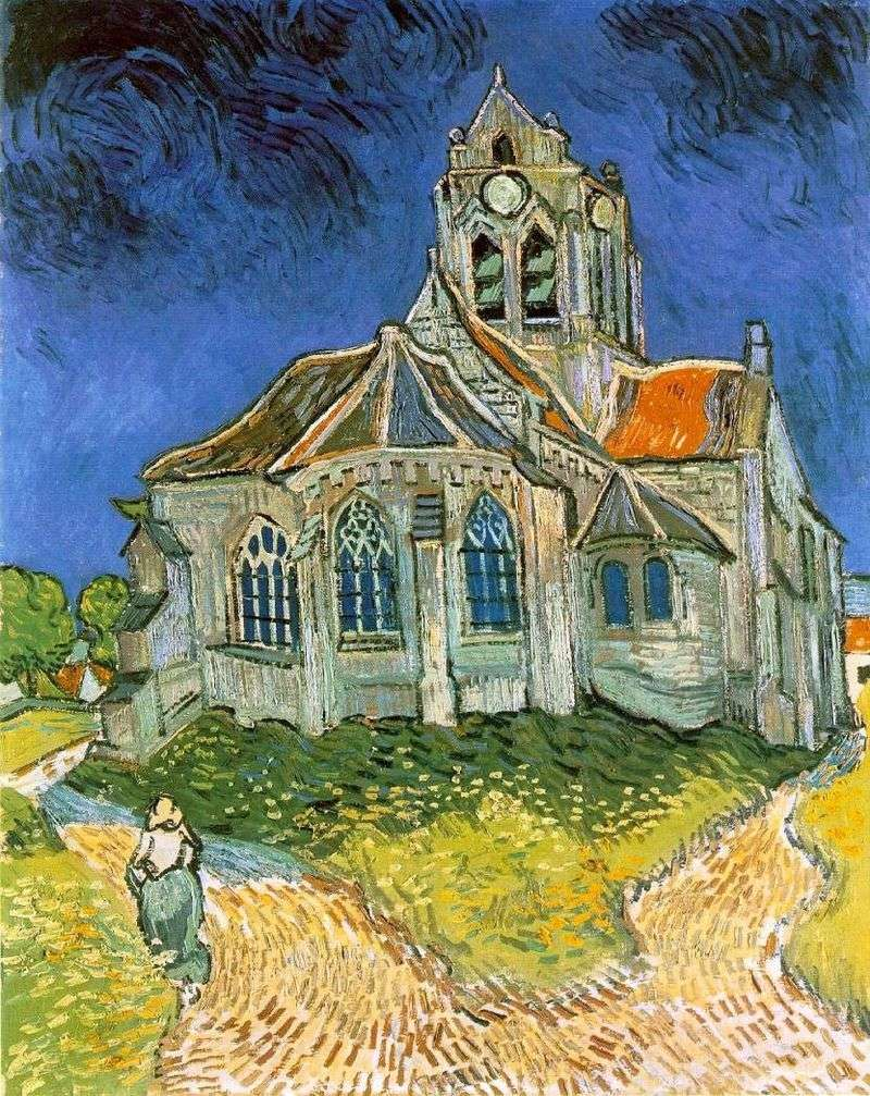 Church in the Over by Vincent Van Gogh