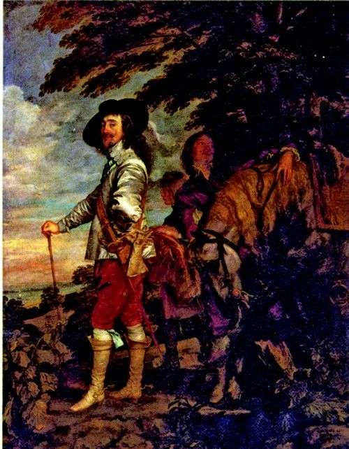 Charles I, King of England, on the hunt by Anthony Van Dyck