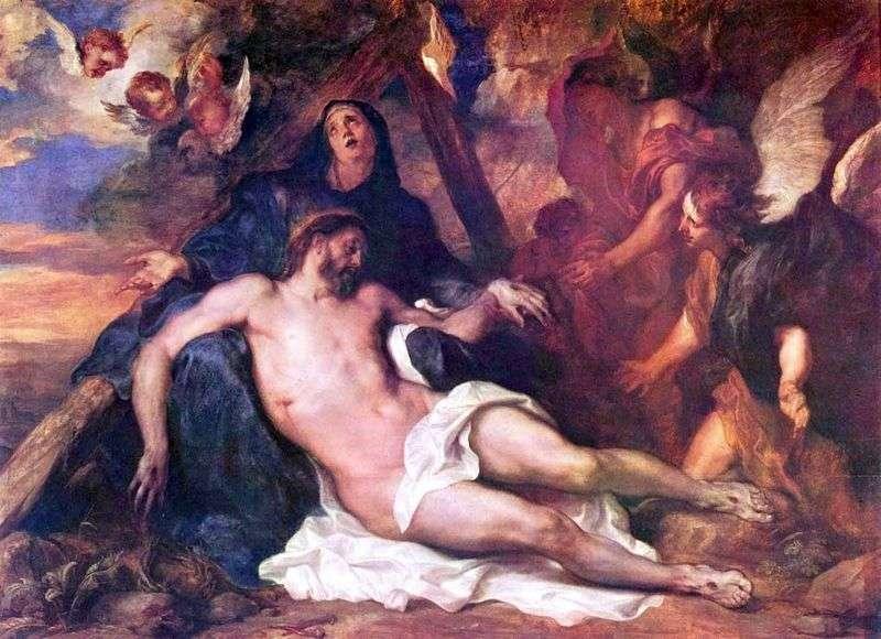Lamentation of Christ by Anthony Van Dyck