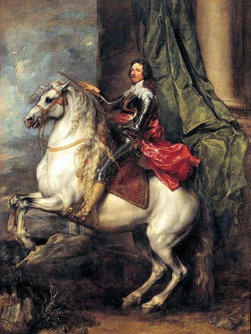 Prince Tommaso Francesco de Savoy Carignan by Anthony Van Dyck