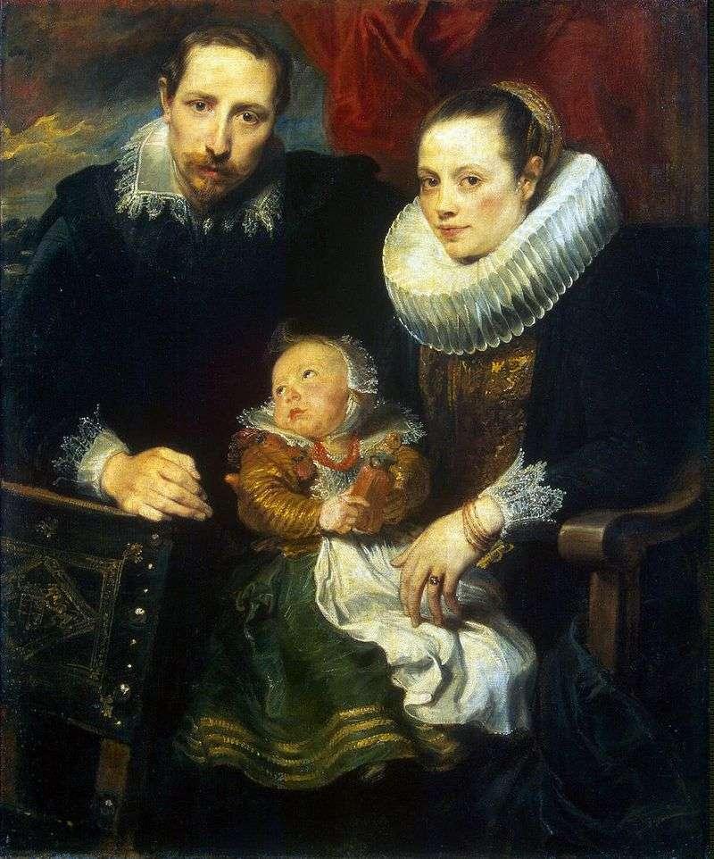Family Portrait by Anthony Van Dyck