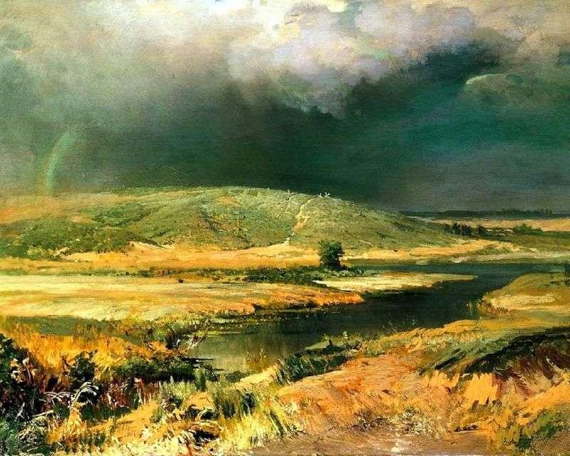 The Volga lagoon by Fedor Vasilyev