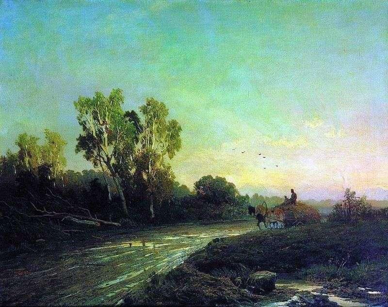 After a rain by Fedor Vasilyev