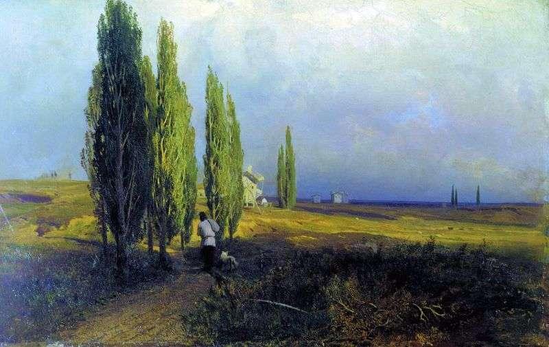 Poplars by Fedor Vasilyev