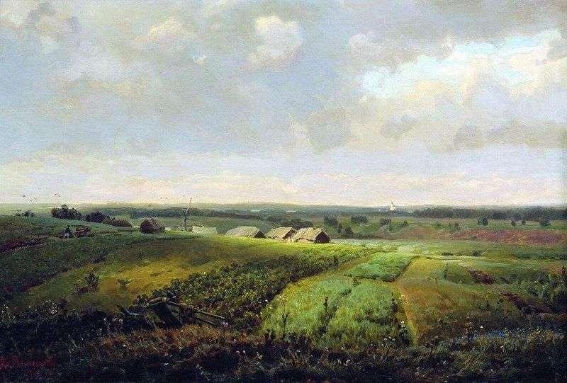 Homeland by Apollinarius Vasnetsov