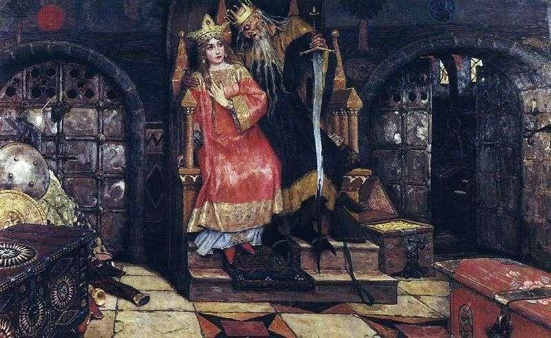 Kashchei the Immortal by Victor Vasnetsov