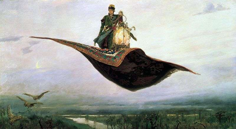 Carpet plane by Victor Vasnetsov