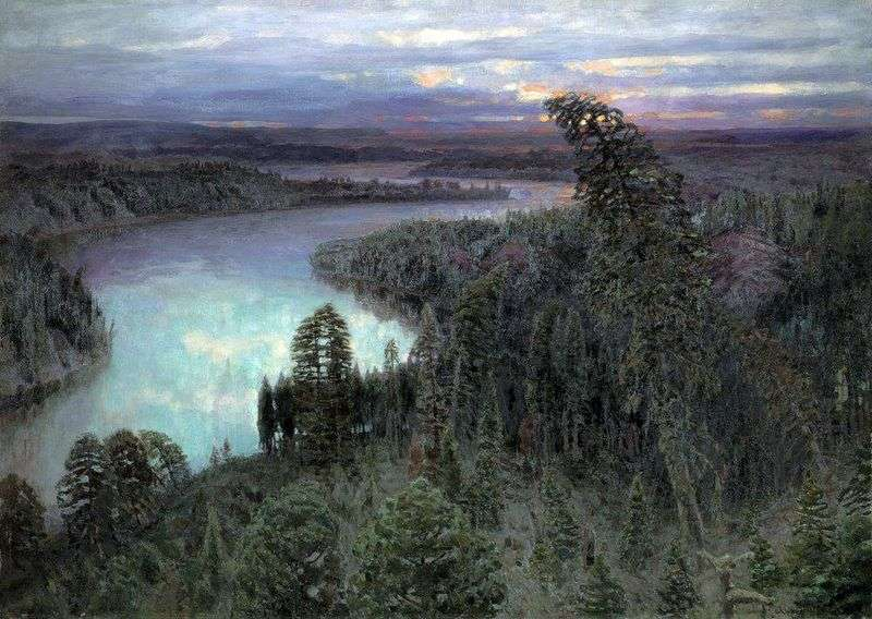 Northern Territory by Victor Vasnetsov