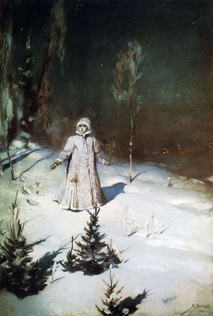 Snow Maiden by Victor Vasnetsov