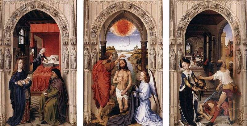 Altar of St. John the Baptist by Rogier van der Weyden