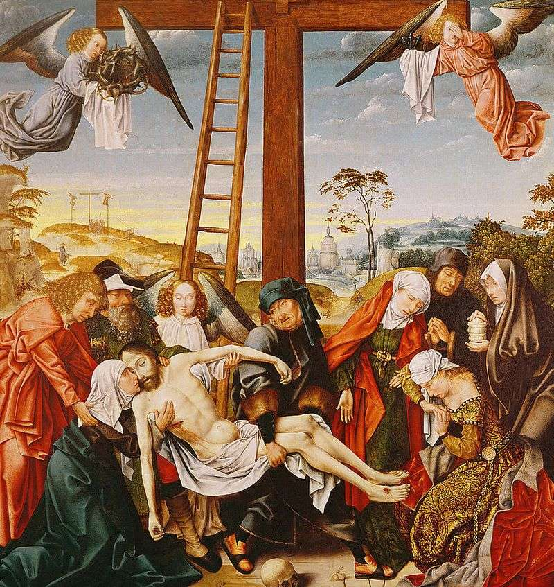 Pieta by Rogier van der Weyden