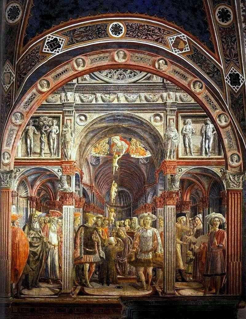 The Vision of Saint Sorore by Vecchietta (Lorenzo di Pietro)