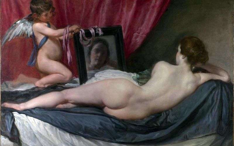 Venus in front of the mirror by Diego Velazquez