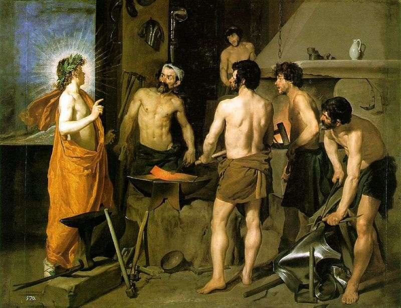 Forge of Volcano by Diego Velasquez