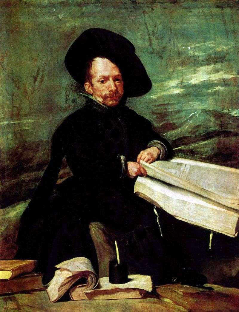 Portrait of the court clown El Primo by Diego Velazquez