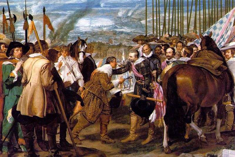 Surrender of Breda by Diego Velasquez