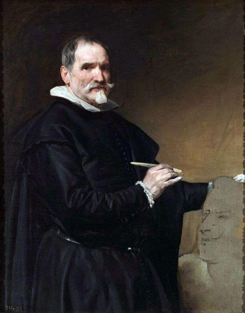 Juan Martinez Montanes by Diego Velasquez