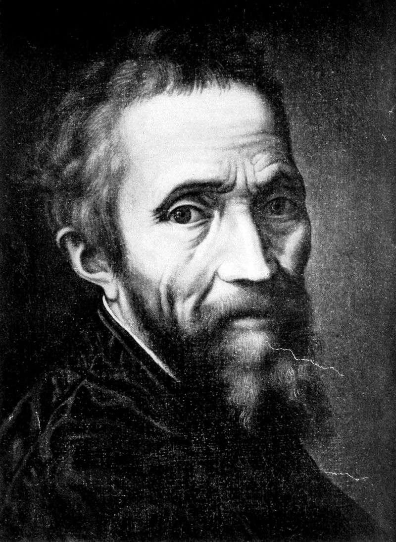 Portrait of Michelangelo Buonarroti by Marcello Venusti
