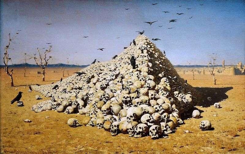 Apotheosis of the war by Vasily Vereshchagin