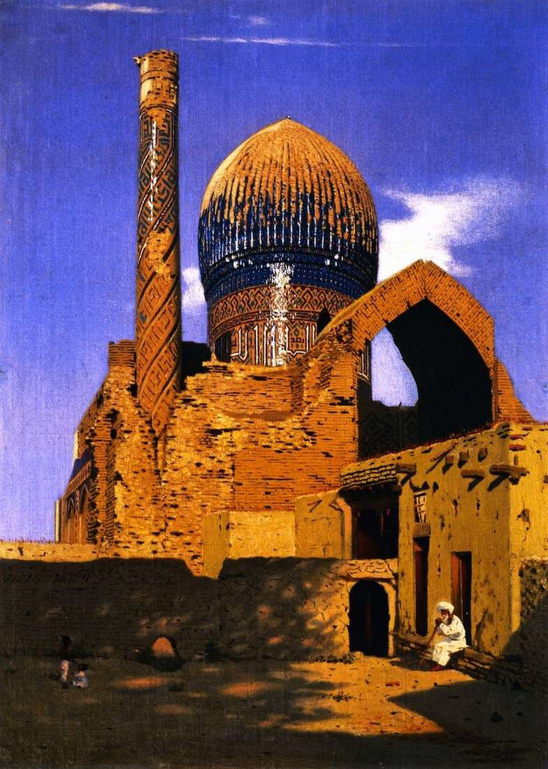 Mausoleum of Gur Emir. Samarkand by Vasily Vereshchagin